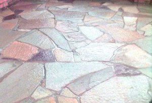 искусственный камень в интерьере квартиры фото
