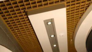 подвесные потолки металлические фото