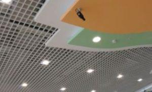 подвеной потолок грильято фото