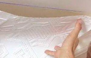 флизелиновые обои потолочные под дальнейшую покраску фото