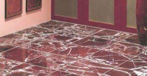 мраморная плитка на пол