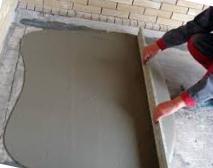 монтаж бетонной стяжки фото
