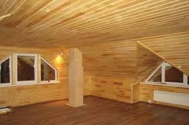 деревянная отделка дома фото