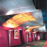металлический потолок фото