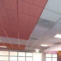 Подвесные потолки с минеральной плитой
