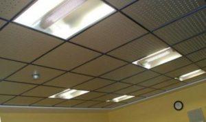 минеральный потолок подвесной фото