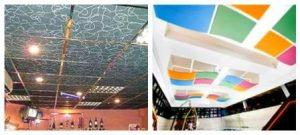 подвесные потолки из минерального волокна фото