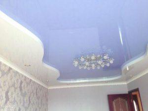 бесшовные потолки тканевые фото