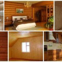 отделка стен деревянной вагонкой фото