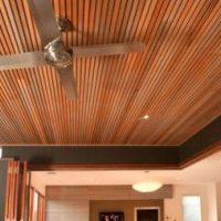 потолочный деревянный блок хаус фото