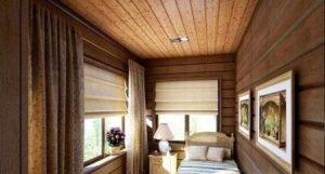 потолочный блок хаус фото