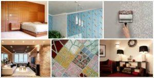 материалы для внутренней отделки стен дома фото