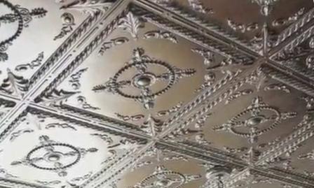 пенопластовый потолок фото