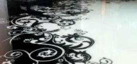 полимерцементный наливной пол фото