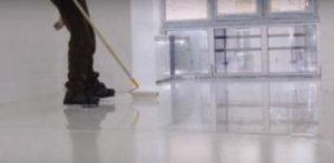 наливной пол из полиуретановой смеси