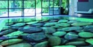 полиуретановый пол в интерьере фото