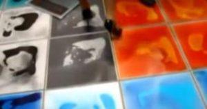 жидкая плитка для пола фото