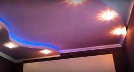 красивый многоуровневый потолок