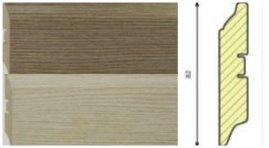 Плинтус из МДФ 3D Wood эффект от SmartProfilе
