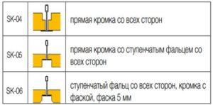 система Т-образных направляющих Нeradesign