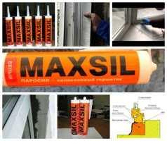 Паропроницаемый герметик Maxsil SN 4011 Паросил, Максил СН 4011