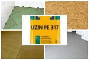 Быстросохнущая грунтовка на основе синтетической смолы Uzin PЕ 317