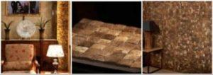 кокосовая мозаика в интерьере