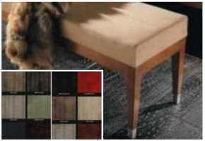 Кожаная плитка в интерьере, дизайн