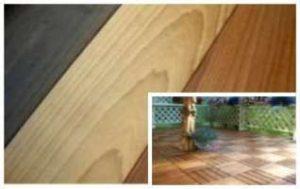 термообработанная древесина, термодерево