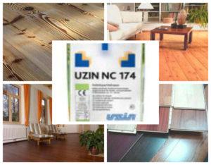Паркетная нивелирмасса Uzin NC 174, Уцин 174