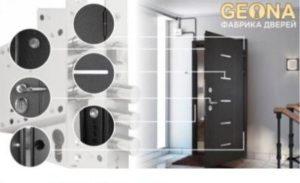 Входные двери Геона (Geona) «Максима» и «Оптима»
