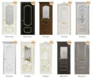 Новинки межкомнатных дверей от компании Геона, дизайны