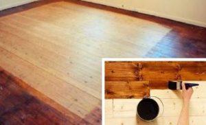 деревянный пол, покрытие