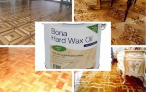 Бесцветное масло с твердым воском Bona Hardwax Oil