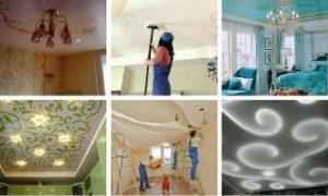 Какой натяжной потолок выбрать ПВХ или тканевый