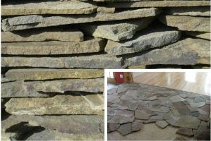Декоративный камень песчаник