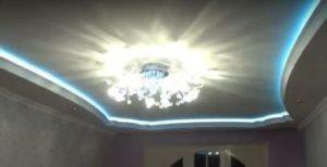 натяжной или подвесной потолок