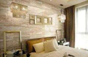 отделка стен мрамором