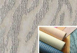 текстильные обои на потолок