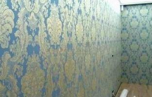 Текстильные бесшовные обои для стен