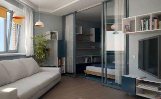 Перепланировка и разработка интерьера малогабаритной квартиры