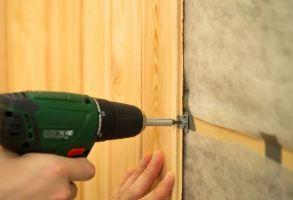 монтаж панелей МДФ на стены и потолок