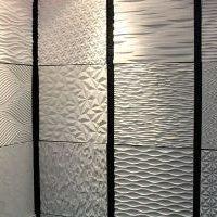 Объемная керамическая плитка с текстурированной поверхностью