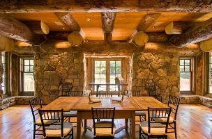 Внутренняя отделка деревянных стен фото