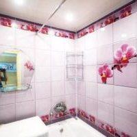 Отделка стен в ванной комнате: плитка или пластик фото