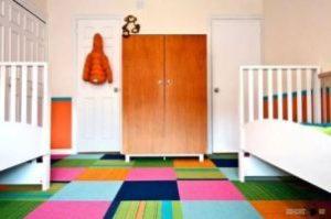 Чем покрыть пол в детской комнате фото