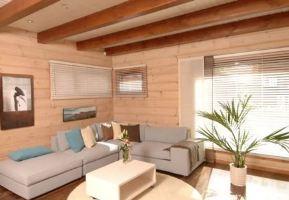 Особенности внутренней отделки деревянных домов фото