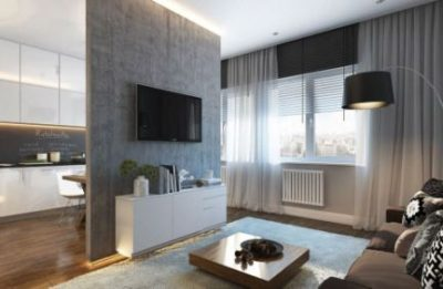 Интерьер квартиры 30 квадратных метров, фото
