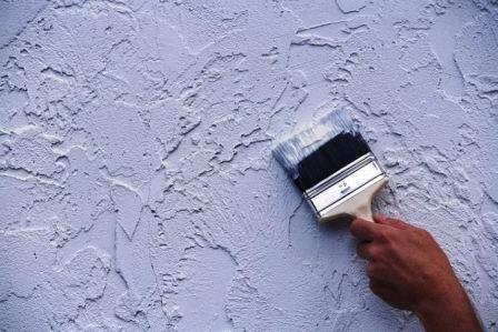 Декор стен без применения обоев, фото