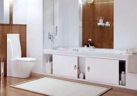 Экраны для ванн, выбор